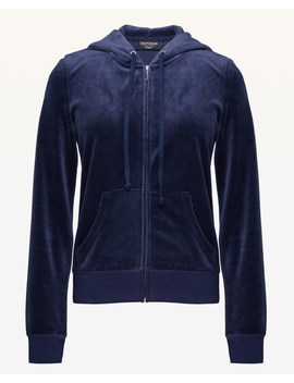 Ornate Cameo Velour Robertson Jacket by Juicy Couture