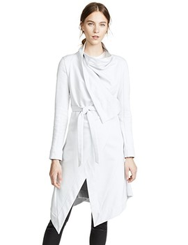 Sweatshirt Wrap Coat by Gareth Pugh