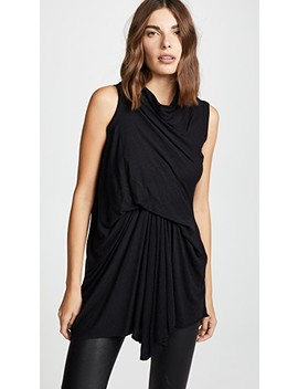 Wrap Front Top by Rick Owens Lilies
