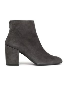 Bacari Suede Ankle Boots by Stuart Weitzman