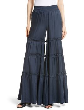 Avery Ruffle Tier Pants by Cinq À Sept