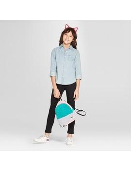 Girls' Fleece Lined Leggings   Cat & Jack™ by Cat & Jack™