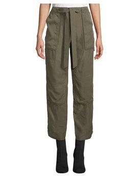 Henri Belted Silk Cargo Pants by Rag & Bone