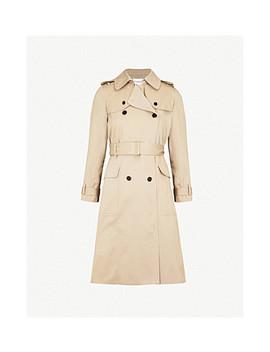 Double Breasted Cotton Trench Coat by Claudie Pierlot