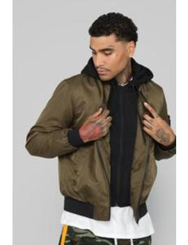 Modern Flight Jacket   Olive by Fashion Nova