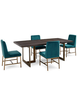Cambridge Dining Furniture, 5 Pc. Set (Dining Table & 4 Side Chairs), Created For Macy's by Cambridge Dining Room Furniture Collection, Created For Macy's