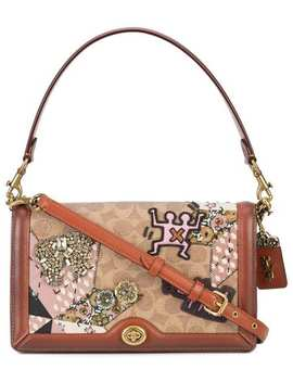 Coach X Keith Haring Riley Crossbody Baghome Women Coach Bags Satchels & Cross Body Bags by Coach