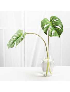 1 Stem Artificial Monstera Leaf / Home Decor Plant, Tropical Leaf, Big Green Leaf, Floral Arrangemet by Rymds