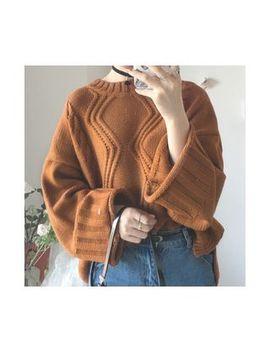 Tiny Times   Rib Knit Sweater by Tiny Times