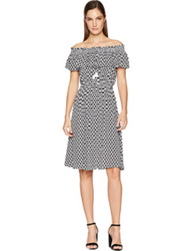 Arrow Stripe Rayon Dress by Kate Spade New York