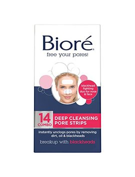 Biore Deep Cleansing Pore Strips For Nose & Face by Bioré