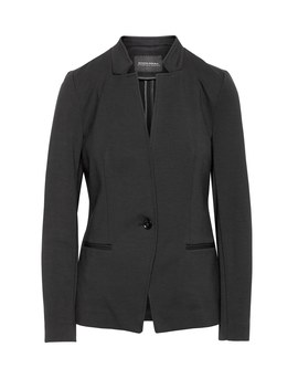 Petite Unstructured Ponte Blazer by Banana Repbulic