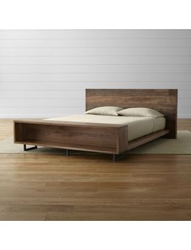 Atwood Queen Bed With Bookcase by Crate&Barrel