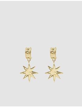 Big Star Drop Earrings by Mondo Mondo