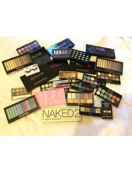 Huge Makeup Assortment Bundle Drugstore And High End Brands Eye Shadow Palettes by Ebay Seller