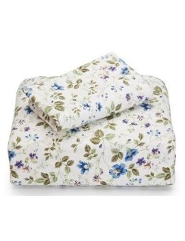 Laura Ashley Spring Bloom Queen Flannel Piece Sheet Set by Laura Ashley