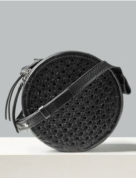 Leather Circle Cross Body Bag by Marks & Spencer