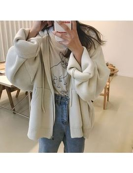 Monroll   Hooded Breien Jacket by Monroll