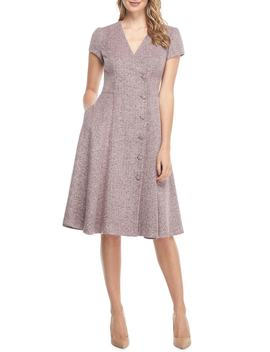Agatha Dainty Tweed Dress by Gal Meets Glam Collection