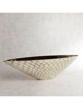 Bronze Metallic Decorative Bowl by Pier1 Imports