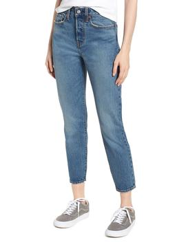 Wedgie Icon Fit High Waist Ankle Jeans by Levi's®