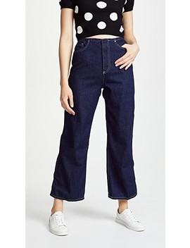 The Etta Wide Leg Cropped Jeans by Ag
