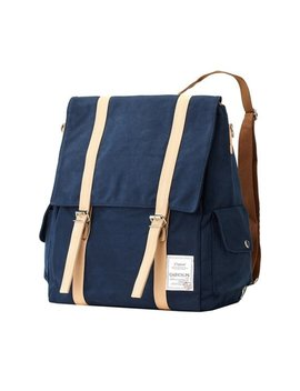 20 Percents Off 69.5 ≫55.6   Two Pocket Multi Backpack (Navy) by Bag Do Ri
