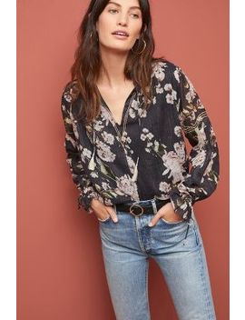 Effie Peasant Top by Dolan Left Coast
