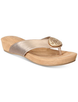 Rosahle Slip On Sandals, Created For Macy's by Giani Bernini