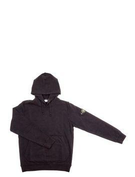 Men's Black Stone Island Sweatshirt by Stone Island