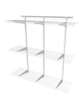 Shelf Track 4' Adjustable Shelf Kit   Closet Maid by Closet Maid