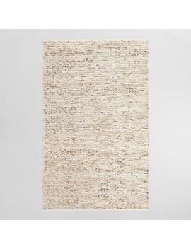 Ivory Chunky Sweater Style Harbin Indoor Outdoor Rug by World Market