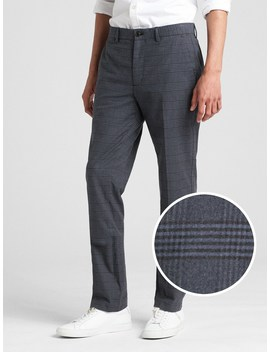 Brushed Twill Pants In Slim Fit With Gap Flex by Gap