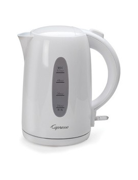 Capresso 57 Fl Oz Electric Water Kettle   White by Capresso
