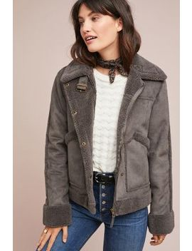 Tina Sherpa Jacket by Marrakech