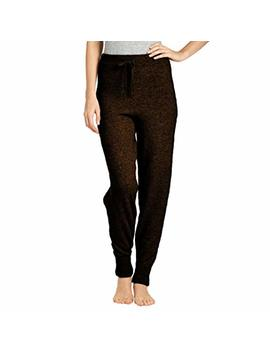 Parisbonbon Women's 100 Percents Cashmere Jogger Pants by Parisbonbon
