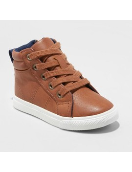 Toddler Boys' Cayden Casual Sneakers   Cat & Jack™ Brown by Cat & Jack™