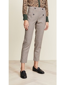Tailored Check Pants by Scotch & Soda/Maison Scotch