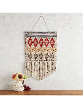 Colorful Diamonds Macrame Art by Pier1 Imports