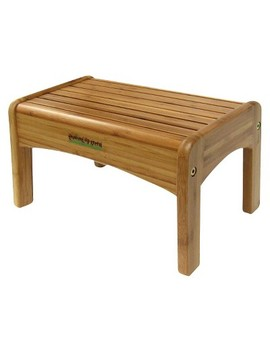 Ginsey Potty Step Stool   Bamboo by Ginsey