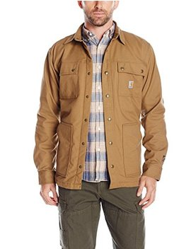 Carhartt Men's Full Swing Quick Duck Overland Shirt Jacket by Carhartt