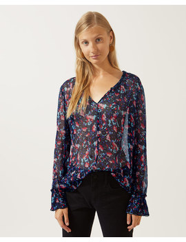 Pretty Pansy Blouse by Jigsaw