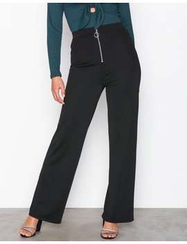 Zip Wide Pants by Nly Trend