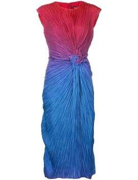 Sies Marjan Nicole Twisted Rosette Dresshome Women Sies Marjan Clothing Evening Dresses by Sies Marjan