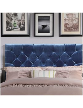 House Of Hampton Heng Diamond Button Tufted Upholstered Panel Headboard & Reviews by House Of Hampton