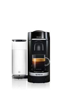 Nespresso Vertuo Plus Deluxe Coffee And Espresso Maker By De'longhi, Black by De Longhi