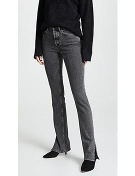 High Split Jeans by Cotton Citizen