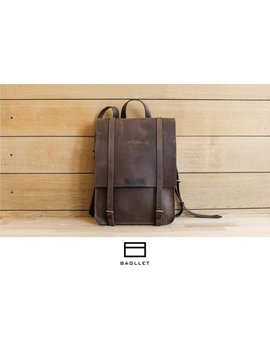 Leather Backpack P037, Handmade Backpack, Women Leather Backpack, Hipster Backpack, Leather Backpack Men, Mens Backpack, Laptop Backpack by Bagllet Store