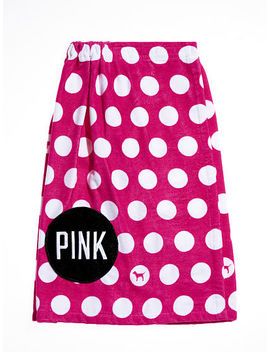 Polka Dot Wrap Towel by Victoria's Secret