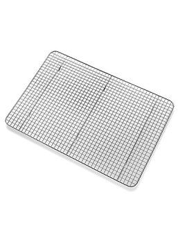 Bellemain Cooling Rack   Baking Rack, Chef Quality 12 Inch X 17 Inch   Tight Grid Design, Oven Safe, Fits Half Sheet Cookie Pan by Bellemain